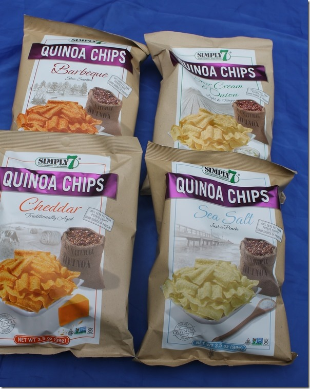 Simply7 Quinoa Chips Are Simply the Best, No Exaggeration!