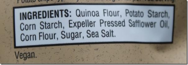 Simply7 Quinoa Ingredients