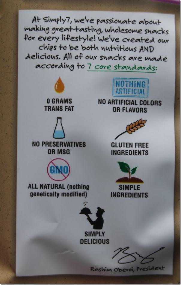 Simply7 Quinoa Standards