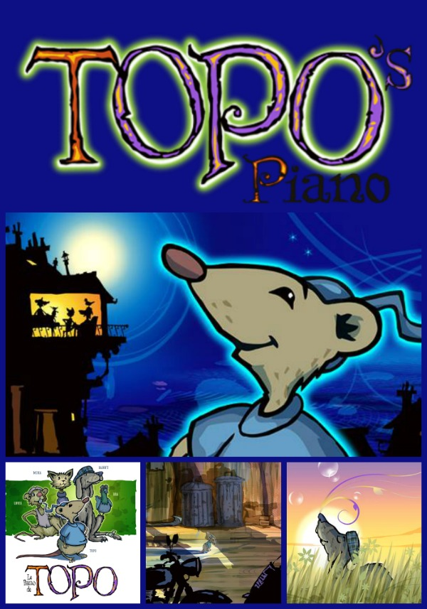 Topo's Piano for iPad: A Beautiful Tale of Friendship & Courage