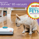 On My Wishlist: The Neato Robotic Vacuum Cleaner! + Giveaway #neatobestpetvacuum!