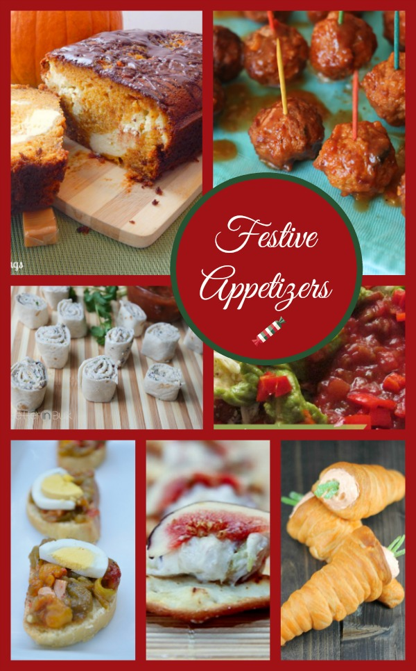 Festive Appetizers for Your Holiday Parties