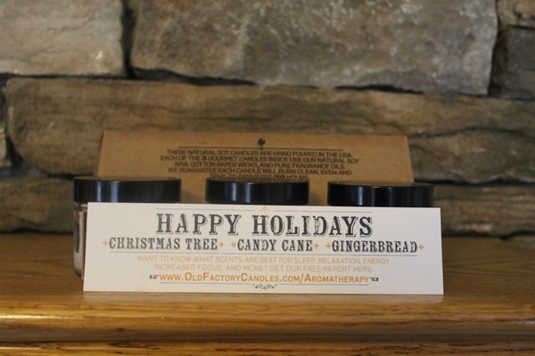 Bring Home the Scents of the Season with Old Factory Candles