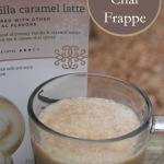 Spice Up Your Life with TAZO Chai + Vanilla Caramel Chai Frappe Recipe #SweetMeetsSpicy