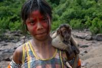 Amazon Rainforest Kayapo Kids