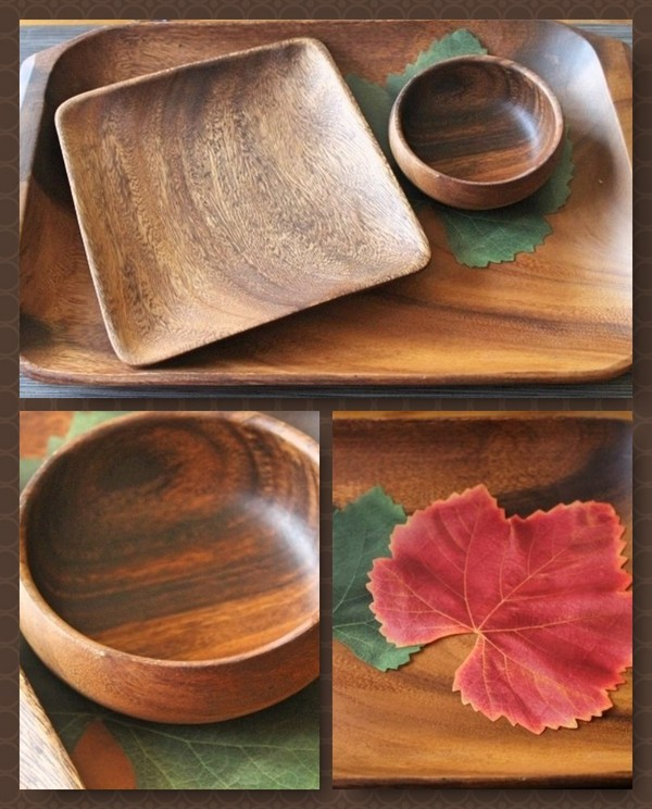 Gorgeous Wood Serving Sets at REASONABLE Prices from Pacific Merchants