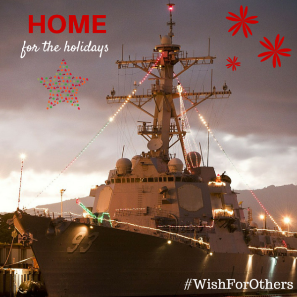 My Wish For Others: Bring Our Troops Home for the Holidays