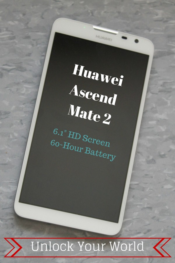 "What Can You Do with a Huawei Ascend Mate 2 smartphone? With a 60-hour battery life and a 6.1"" HD screen, pretty much anything your heart desires!"