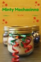 Minty Mochacinno in a Jar