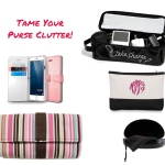 5 Tips to Tame Your Purse Clutter