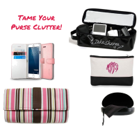 5 Easy ways to tame your purse clutter