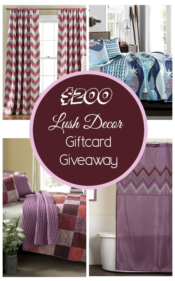 make over your home with a 200 lush decor gift card giveaway