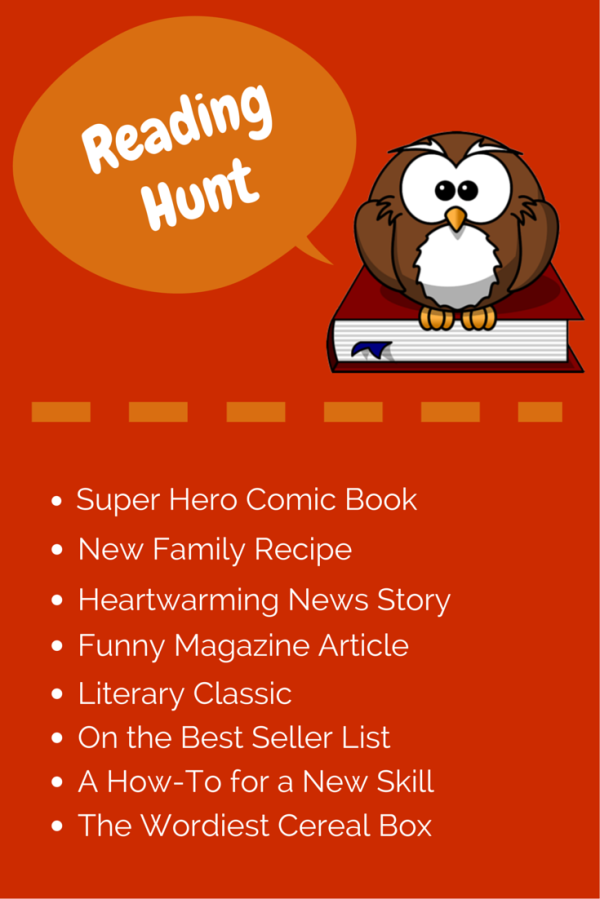 Book Blitz Month Fun: Create a Reading Scavenger Hunt