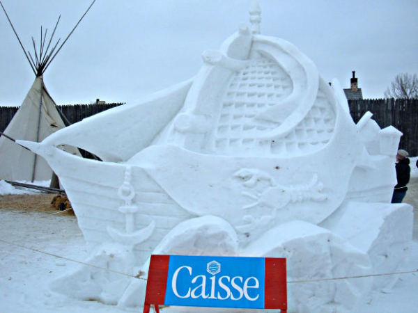 Gorgeous Snow & Ice Sculptures