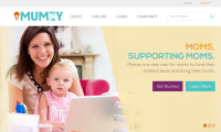 Mumzy: The first crowdfunding platform developed specifically for moms.
