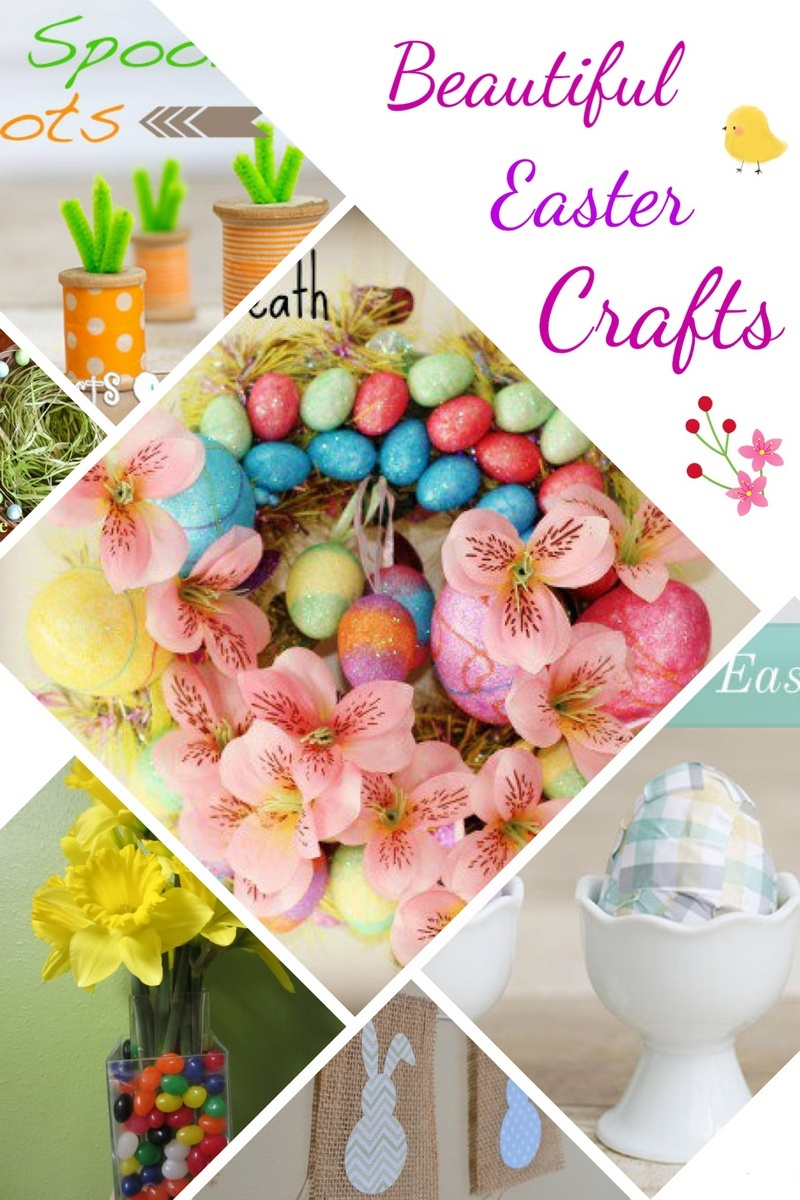 A Basket Full Of Easy Easter Crafts For Moms Kids Pretty Opinionated
