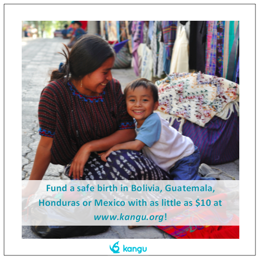 Help Fund Safe Births Around the World with Kangu #KanguMama