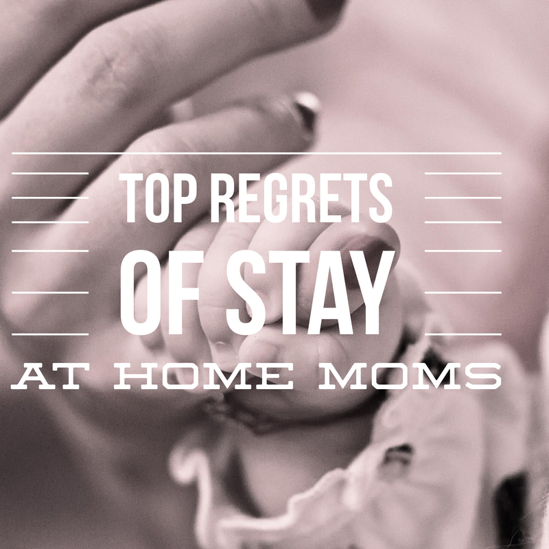 10 Regrets Experienced By Stay-At Home Moms