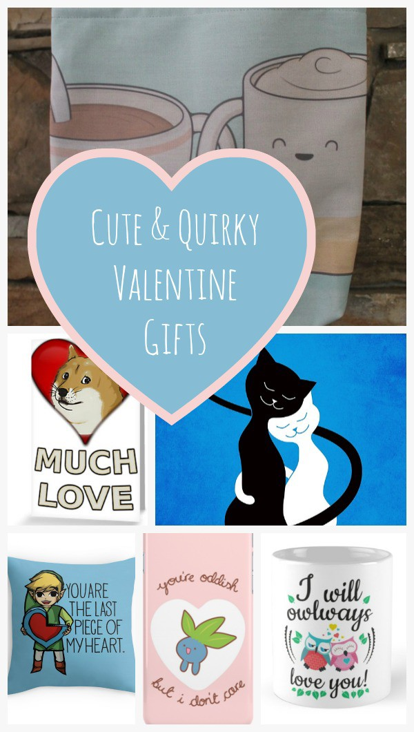 Check out all the cute and quirky Valentine's Day gifts for everyone on your list at Redbubble!