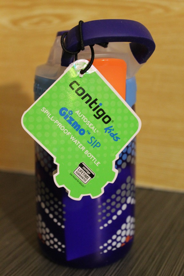 Contigo Gizmo Sip Water Bottle for your Active, Growing Sprout