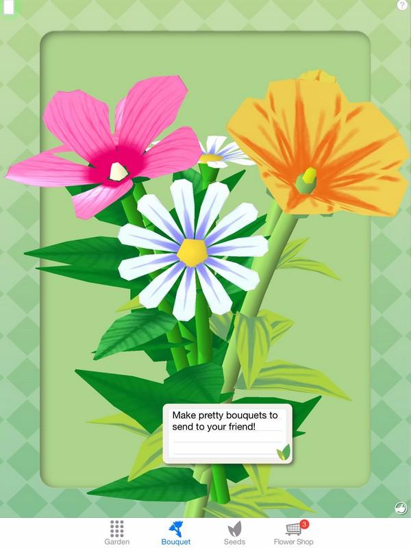 Flower Bouquet Game
