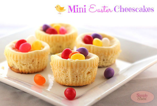 Mini Cheesecakes SimplyStacie Easter Dessert Recipes