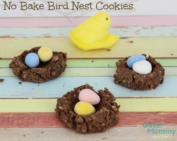 No-Bake-Bird-Nest-Cookies-a Easter Dessert Recipes