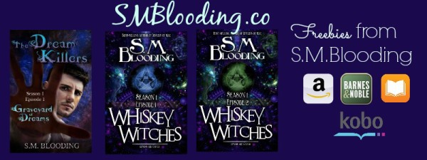 Grab Three Great FREE Reads from S.M. Blooding