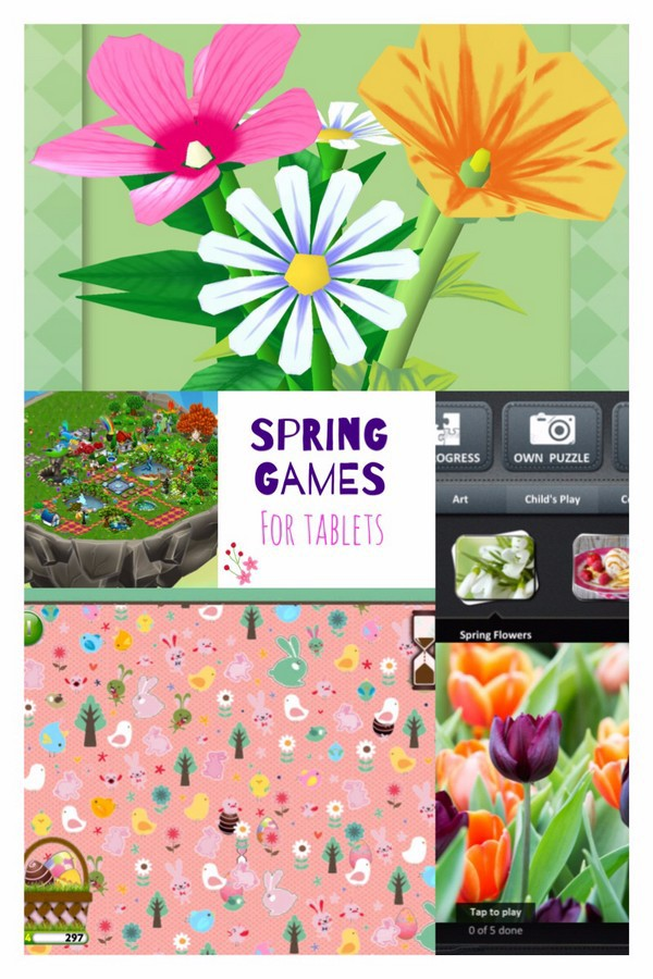 Check out these fun spring and Easter games for your iPad and Tablet!