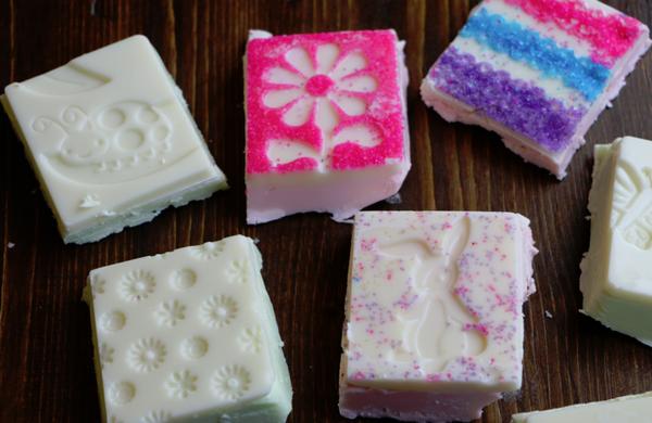 Spring-Fudge-with-Sprinkles- Easter Dessert Recipes