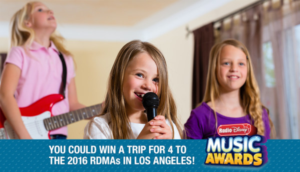 "Want to win a trip for 4 to the 2016 Radio Disney Music Awards? Show off your family's talent by submitting a video singing the ""Stuck on Me"" BAND-AID Brand jingle!"