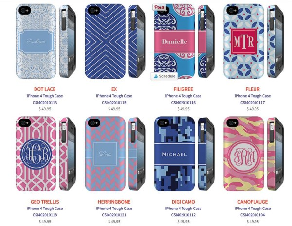 Want to give mom a beautiful gift that helps protect her tech in style? Check out all the fabulous customization options at The Case Studio!