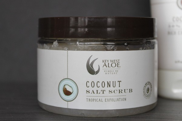 Key West Aloe Coconut  Salt Scrub makes a perfect Mother's Day gift for your spa-loving mom!