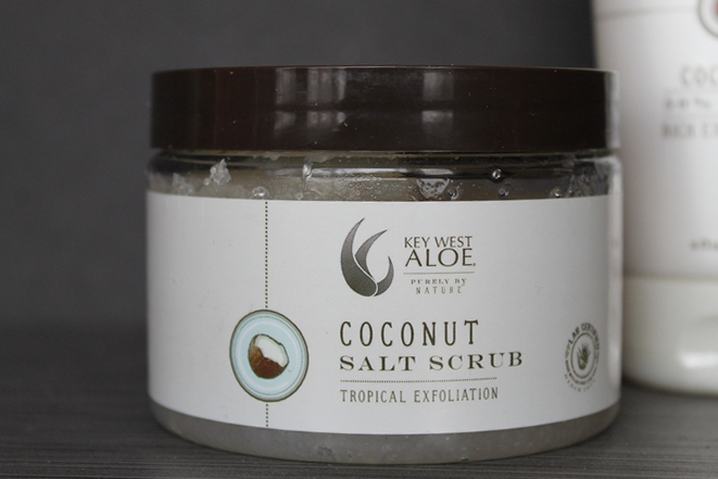 Key West Aloe Coconut Salt Scrub & Lotion Mother's Day Spa Goodies