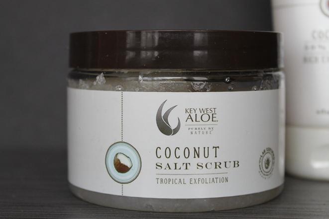 Key West Aloe Coconut Salt Scrub & Lotion Mother's Day Spa Goodies