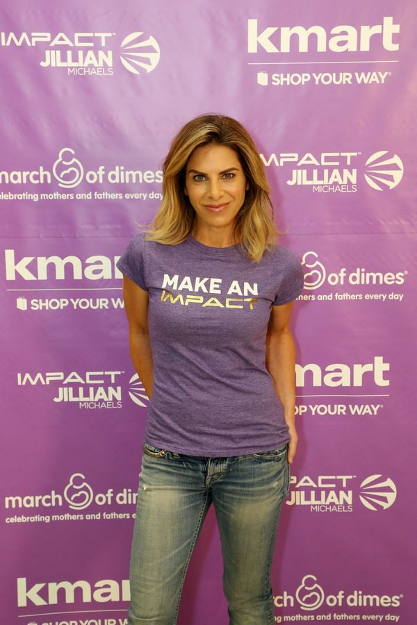 Exclusive Jillian Michaels/ March of Dimes T-Shirt