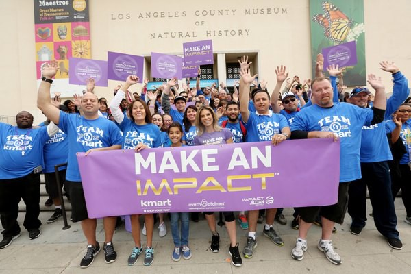 Help Team Kmart Support the March of Dimes