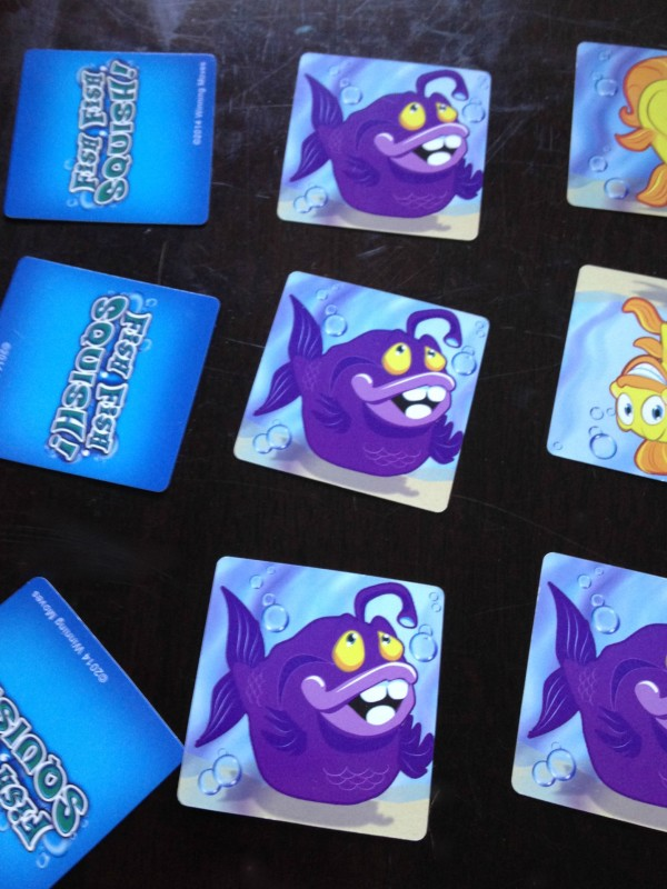 Fish Fish Squish™ is loads of fun on family game night!