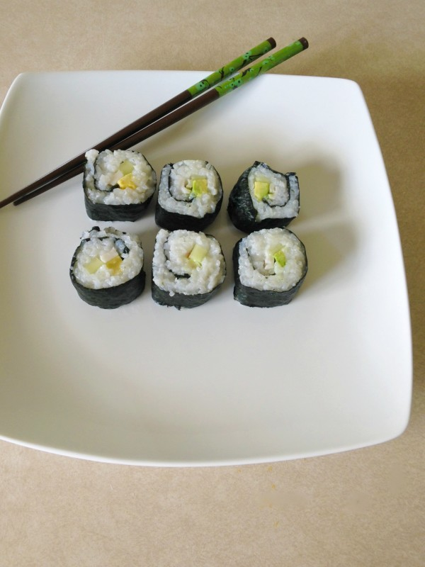 Make your own sushi at home easily with SushiQuik! Perfect for a sushi party or date nights!