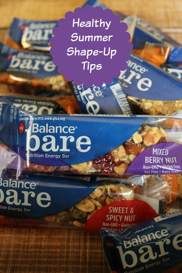 Balance Bar Summer Shape Up Tips