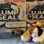 Take the Heavy Lifting Out of Stopping Kitty Odors with Arm & Hammer Clump & Seal Lightweight #ClumpAndSeal
