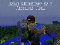 Tips for Using Minecraft as a teaching tool over the summer to inspire kids to read and write their own stories.