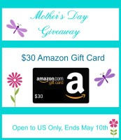 Mothers Day Gift Card Giveaway