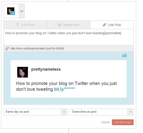 Promote Your Blog on Twitter Automate