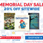 Stock up on these Preschool & Early Elementary Summer Reading Books with 20% off Site Wide at Scholastic Store
