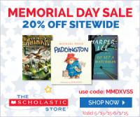 Scholastic Memorial Day Sale