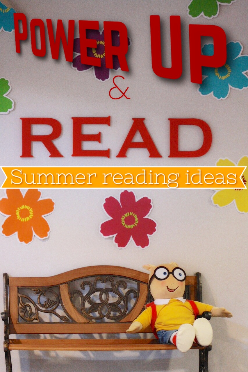 Power Up & Read with Scholastic Summer Reading Challenge #SummerReading