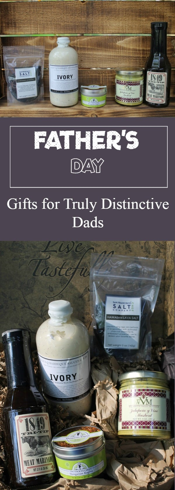 Truly distinctive dads deserve truly distinctive Fathers Day gifts! Check out one of my favorites from Taste Trunk!