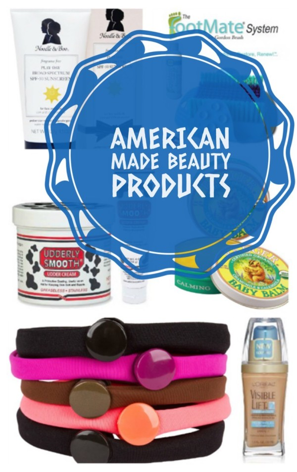 6 Awesome Made in the USA beauty products that you'll love!