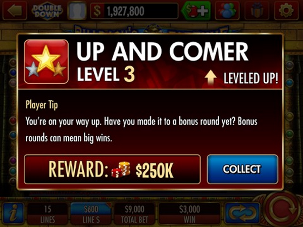 double down casino level up